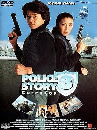 affiche sortie dvd Police Story 3 - Supercop