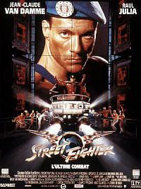 affiche sortie dvd street fighter - l'ultime combat