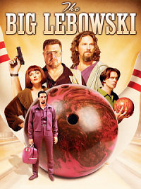 affiche sortie dvd The Big Lebowski