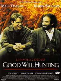 affiche sortie dvd will hunting