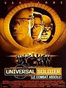 affiche sortie dvd Universal Soldier 2 - le combat absolu