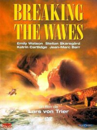 affiche sortie dvd Breaking the Waves