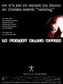 affiche sortie dvd le projet blair witch