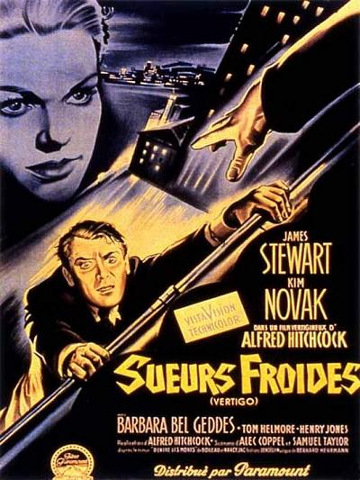 sortie vod, dvd et blu-ray Sueurs froides