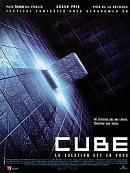 affiche sortie dvd cube