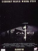 affiche sortie dvd alien - la resurrection