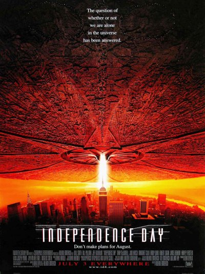sortie vod, dvd et blu-ray Independence Day