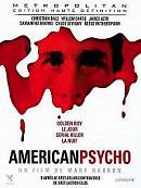 affiche sortie dvd american psycho
