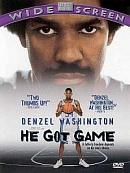 affiche sortie dvd He Got Game