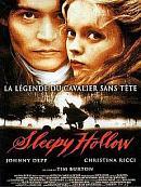 affiche sortie dvd sleepy hollow, la legende du cavalier sans tete