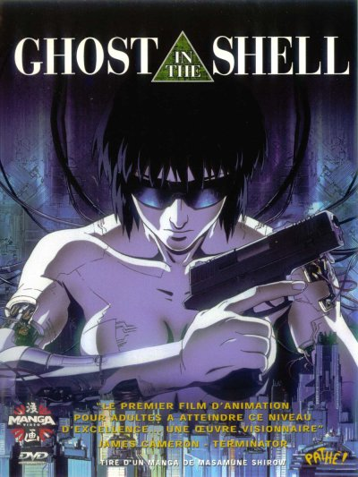 sortie vod, dvd et blu-ray Ghost in the Shell