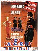 affiche sortie dvd to be or not to be - jeux dangereux