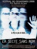 affiche sortie dvd la secte sans nom