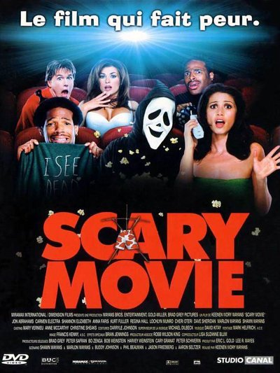 sortie vod, dvd et blu-ray Scary Movie