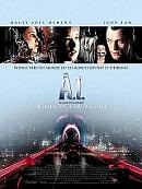 affiche sortie dvd A.I. Intelligence artificielle