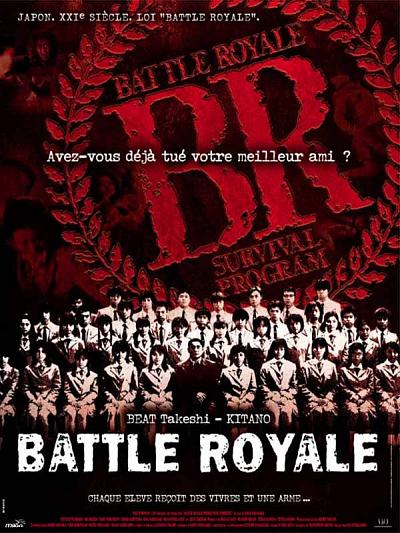sortie vod, dvd Battle Royale