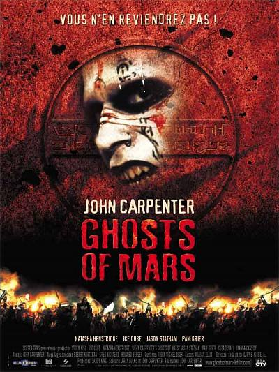 sortie dvd et blu-ray Ghosts of Mars