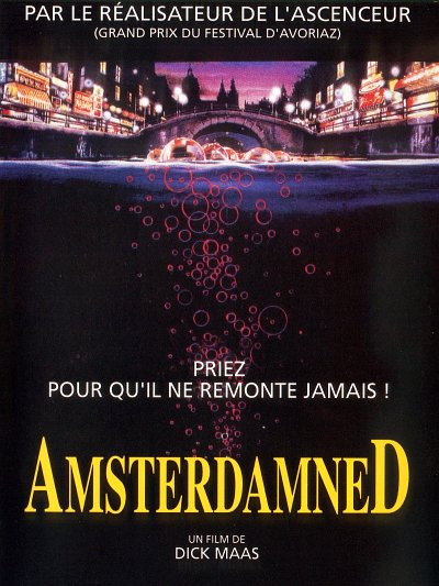 sortie vod, dvd Amsterdamned