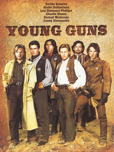 sortie vod, dvd et blu-ray Young Guns