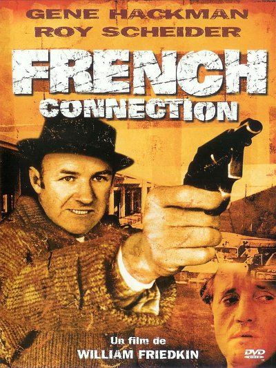 sortie vod, dvd et blu-ray French Connection