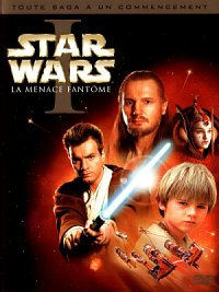 affiche sortie dvd star wars - la menace fantome