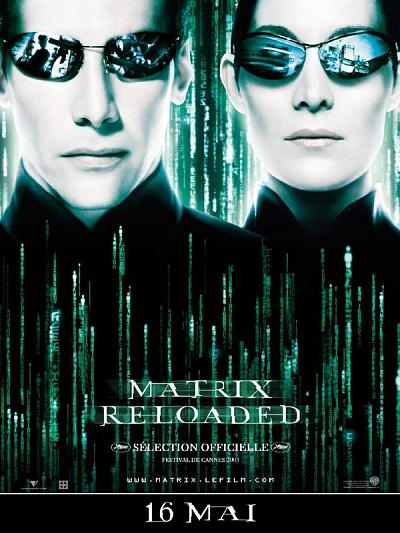 sortie vod, dvd et blu-ray Matrix Reloaded
