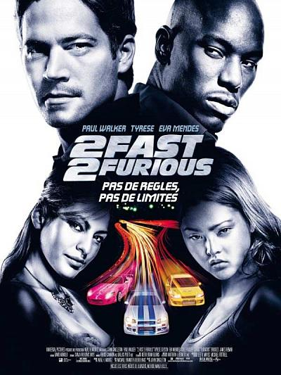 sortie vod, dvd et blu-ray 2 Fast 2 Furious