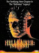 affiche sortie dvd hellraiser 5 - inferno