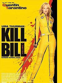 affiche sortie dvd kill bill - volume 1