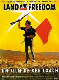 affiche sortie dvd Land and Freedom