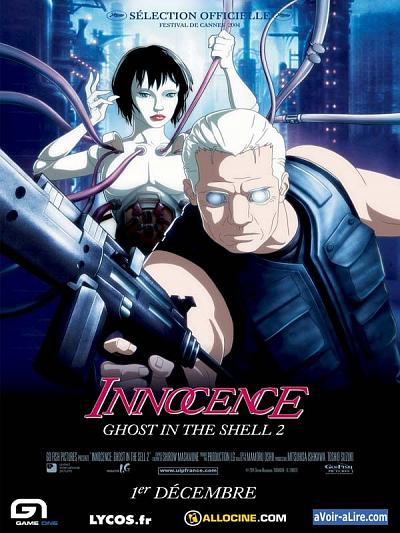 sortie dvd et blu-ray Innocence - Ghost in the Shell 2