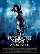 affiche sortie dvd resident evil - apocalypse