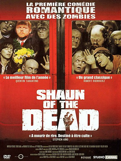 sortie vod, dvd et blu-ray Shaun of the Dead