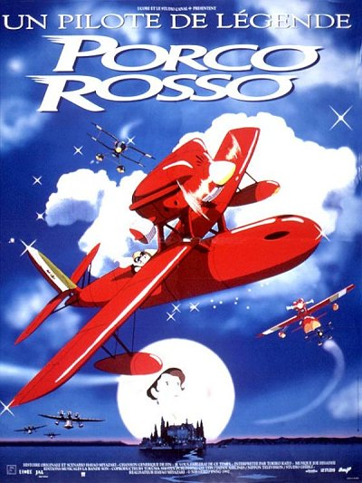 sortie dvd et blu-ray Porco Rosso
