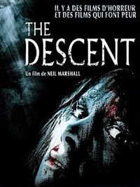 affiche sortie dvd the descent