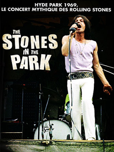 sortie dvd et blu-ray The Stones in the Park