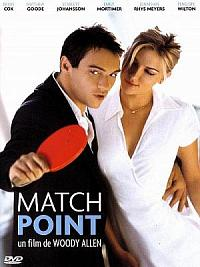 affiche sortie dvd match point