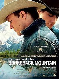 affiche sortie dvd Le Secret de Brokeback Mountain
