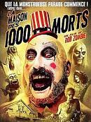 affiche sortie dvd la maison des 1000 morts