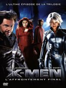 affiche sortie dvd X-Men, l'affrontement final