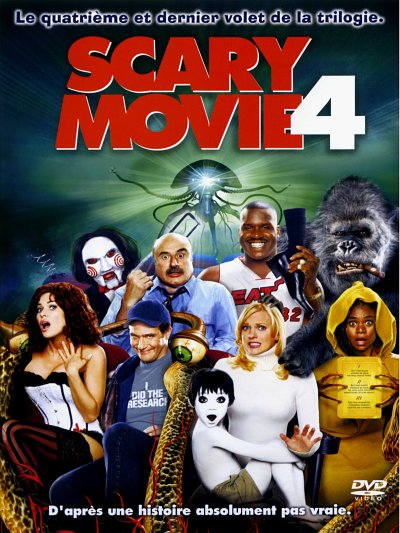 sortie vod, dvd et blu-ray Scary Movie 4