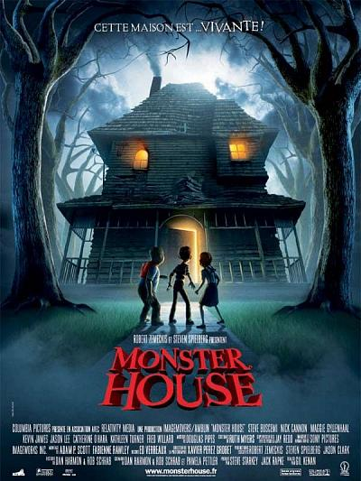 sortie vod, dvd et blu-ray Monster House
