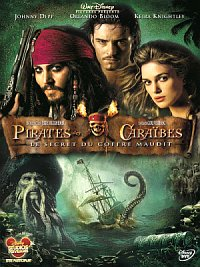 affiche sortie dvd pirates des caraibes - le secret du coffre maudit