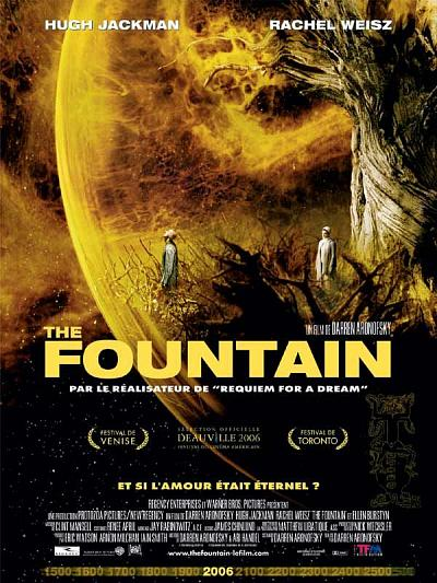 sortie dvd et blu-ray The Fountain
