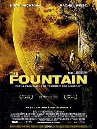 affiche sortie dvd the fountain