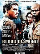 affiche sortie dvd blood diamond