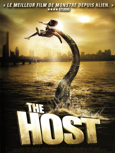 sortie dvd et blu-ray The Host