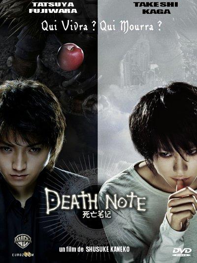 sortie dvd et blu-ray Death Note - Le film