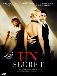 affiche sortie dvd Un secret