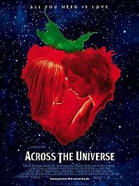 affiche sortie dvd across the universe